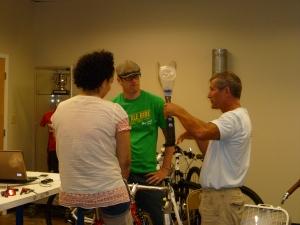 Jamie Schanbaum bike fit