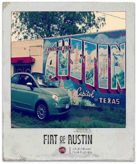 Our Premiere Corporate Sponsor, Fiat of Austin!