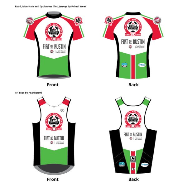 2013 Club jersey mock-ups from Primal! Plus, to-be-seen race kits from Castelli!