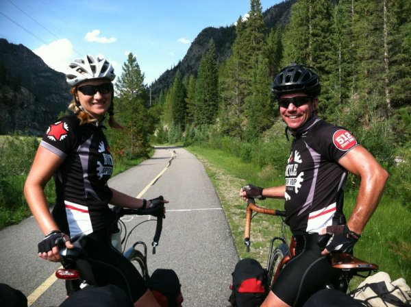 Stephanie & Sam have fallen for bicycle touring and think you will too!