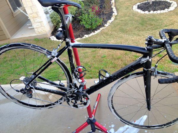 A clean bike is a happy bike!