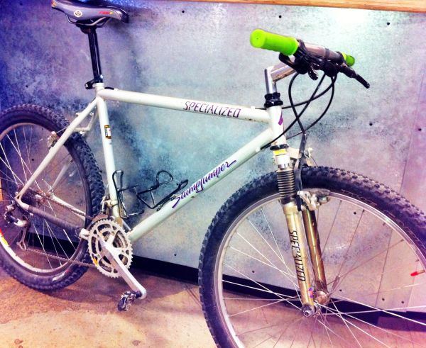 Classic bikes like this Stumpjumper always garner a fair amount of attention in the shop.