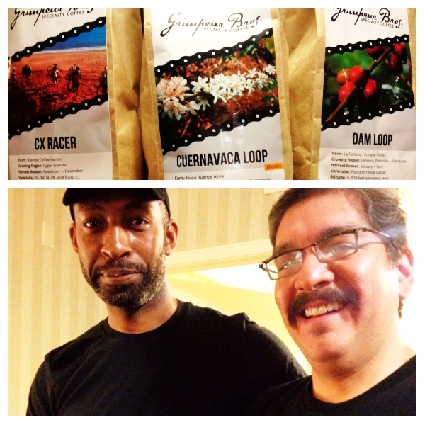 Thanks for the pick-me-up Nigel and Dan! CX Racer blend Grimpeur Bros. for the win!