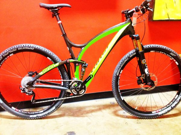 The new Niner Jet 9 RDO has heads turning.