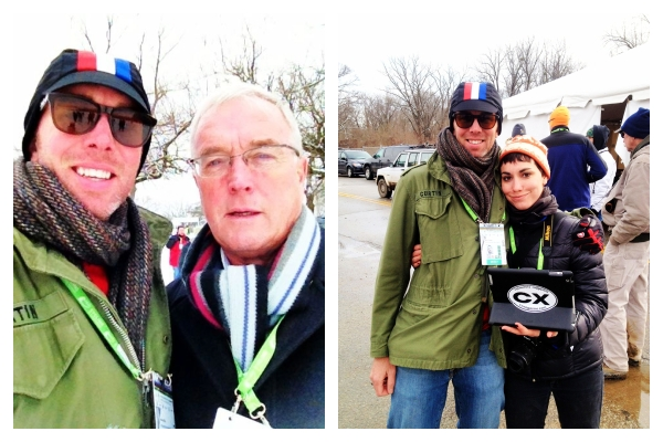 Early in the day I ran into UCI President Pat McQuaid, and later the significantly bigger crowd favorite, Molly Hurford of Cyclocross Magazine.