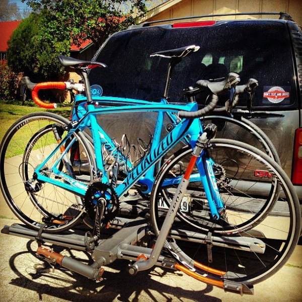 The guys at Cycle Camp USA are rolling the SL4 Pro this year. They're on the Dura Ace equipped version, which conveniently comes in Cycle Camp USA blue!