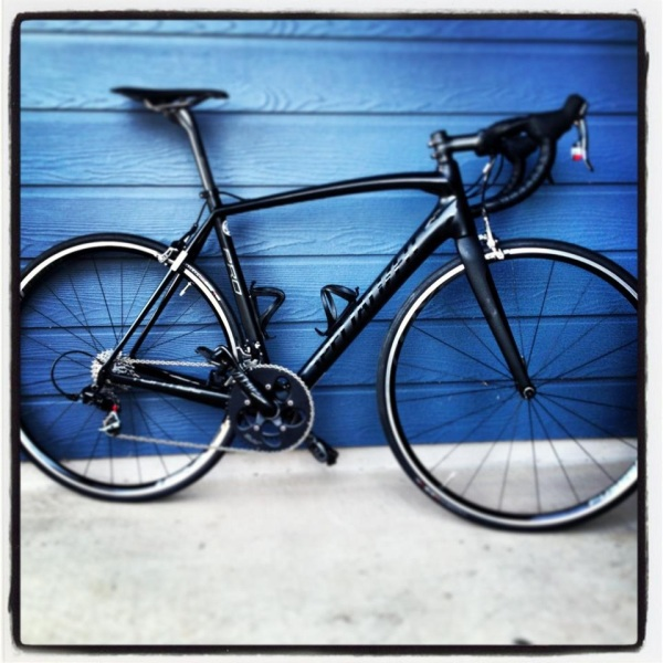 Fresh from the shop, the 2013 Specialized Tarmac SL4 Pro SRAM mid-compact. Perhaps one of the most through model names out there!