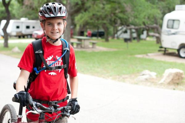 Grant has been riding the trails around his house and grabbing podium finishes in TMBRA races for three years.