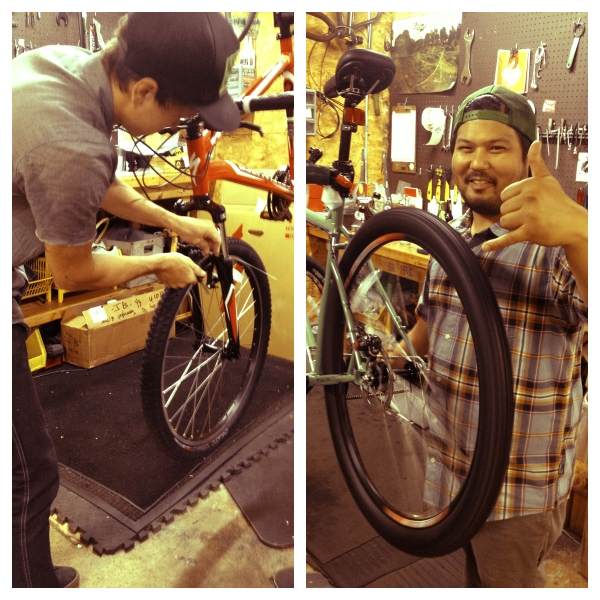 Bikes are built then second checked before ever heading to your favorite Bicycle Sport Shop location.