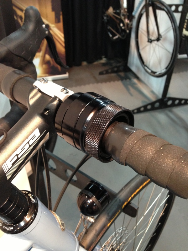 A new smaller, easier to grip Rohloff shifter. fresh out of Co-Motion's machine shop.