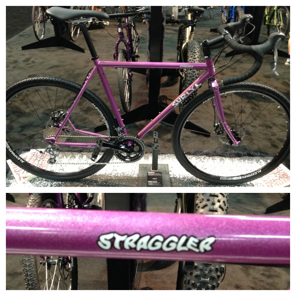 Professor Al's new ride, the Surly Straggler!