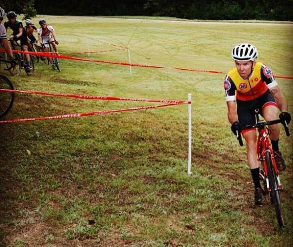 "Riding at the ""World Famous Sunday CX Practice"" at Richard Moya Park."