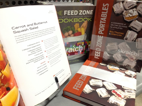 Skratch Labs excellent Feed Zone series is perfect for the foodie/cyclist in your life. $24.99 each.