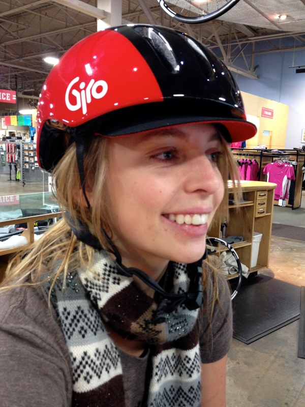 Kailey knows safety and style go hand in hand. The Giro Reverb. $59.99