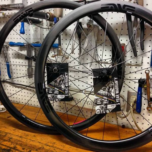 Enve's SES 3.4 tubulars are a game changer.