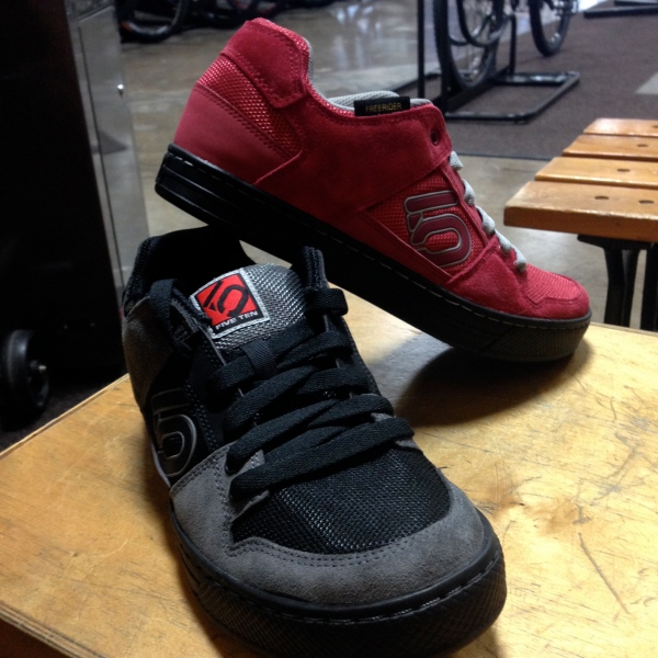 Come try a pair of Five Tens on and talk with the numerous folks around the shop that swear by the shoes.