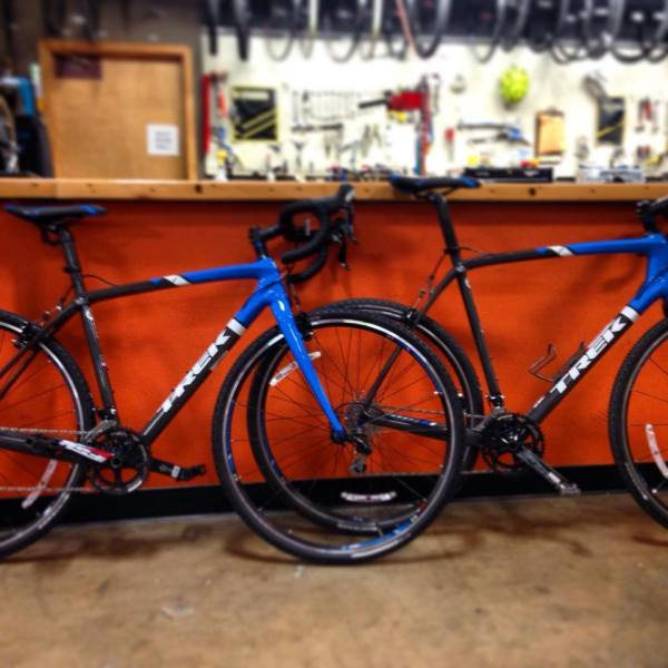 Dan took to the Castel Grind on a 2014 trek Boone from the shop's rental department.