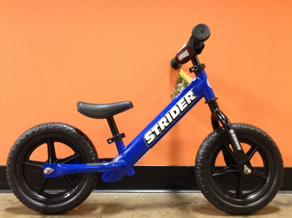 Balance bikes like those from Strider are a great way for youngsters to get started riding.