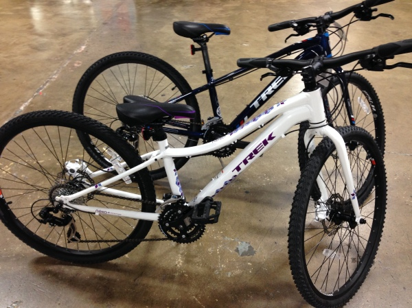 Trek's Dual Sport for kids. Just like mom's or dad's!