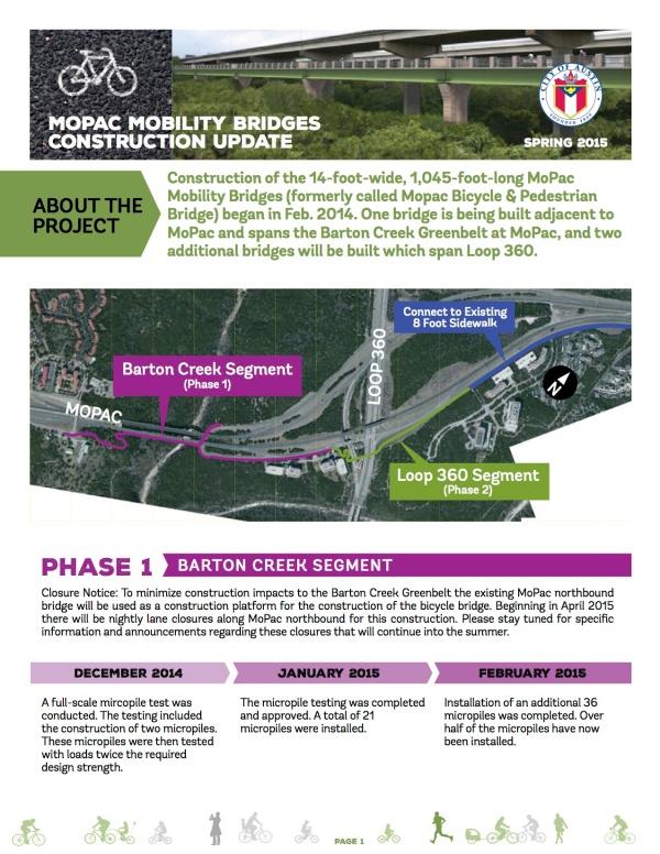 MoPac Mobility Bridges Construction Update_Spring 2015 (1)