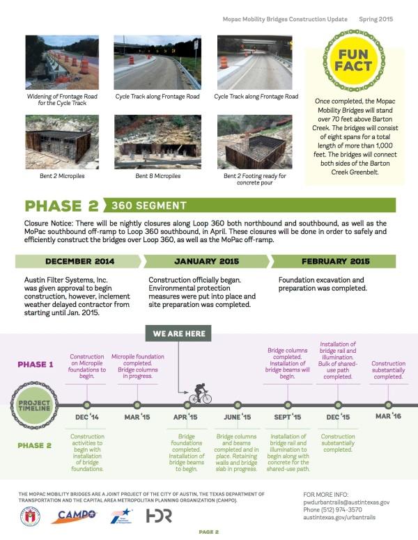 MoPac Mobility Bridges Construction Update_Spring 2015 (2)