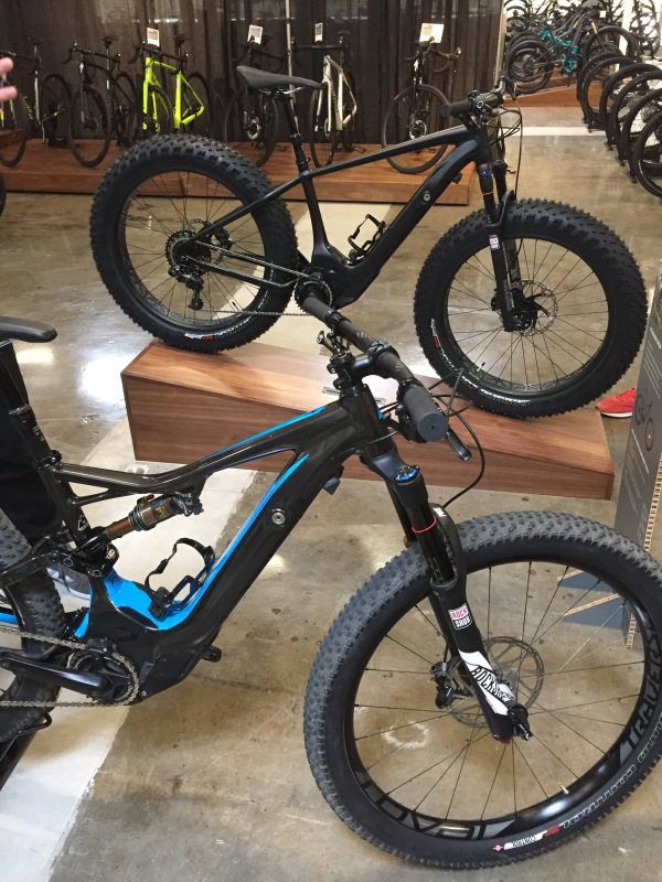 Specialized pedal assist mountain bike. ebike
