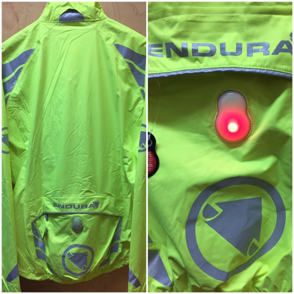 Endura's integrated light is a simple solution. Never forget your tail light again.